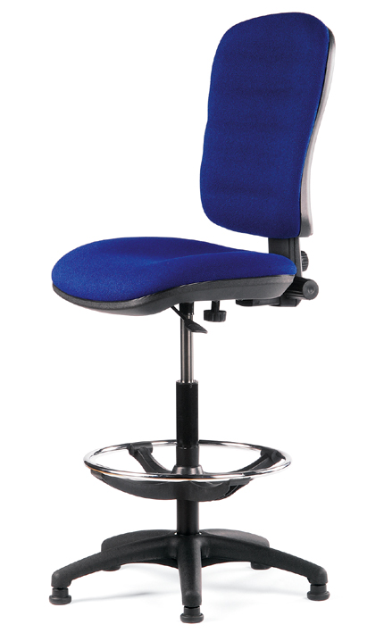 chaise dessinateur tissu mod le 1 abc diffusion mobiliers d 39 am nagement de bureaux. Black Bedroom Furniture Sets. Home Design Ideas