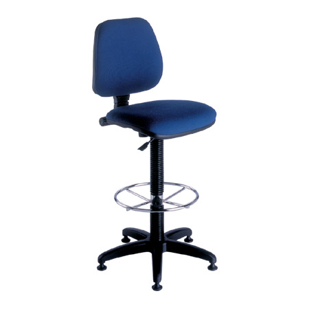 chaise dessinateur tissu modele 5 abc diffusion mobiliers d 39 am nagement de bureaux. Black Bedroom Furniture Sets. Home Design Ideas