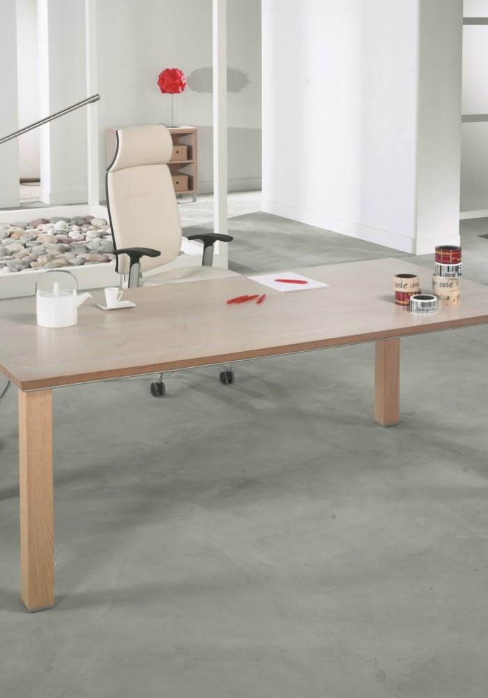 bureau hetre modele 14 abc diffusion mobiliers d 39 am nagement de bureaux. Black Bedroom Furniture Sets. Home Design Ideas