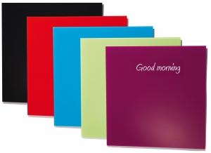 Tableau design verre de couleur abc diffusion - Tableau magnetique design ...