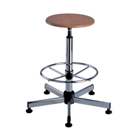 Chaise dessinateur assise bois abc diffusion mobiliers - Chaise de dessinateur ...